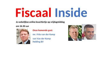 Fiscaal Inside 30 oktober 2020