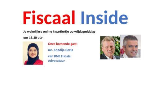 Fiscaal Inside 2 oktober 2020